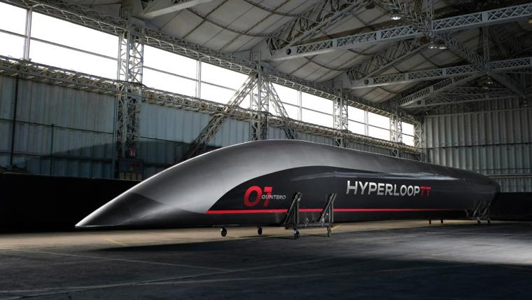 Hyperloop, train à grande vitesse connecté ultra performant